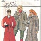Misses' Butterick 4507  Coat and Jacket  Patterns Sizes 6, 8 & 10  uncut