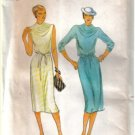Misses' Butterick 6904 Vintage Dress Pattern For Moderate Stretch Knits  Size 8
