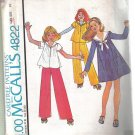 McCall's Vintage 1975 Girl' Dress Top & Skirt   Pattern Size 10 Uncut