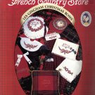 French Country Store – Les Gingham Christmas Bows  cross stitch
