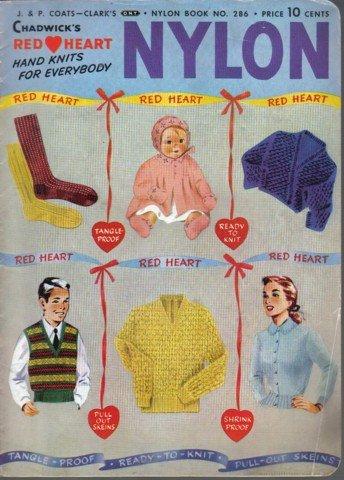 Vintage Chadwicks Nylon Hand Knits for Everybody no 286 - 1952