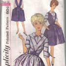 Simplicity 4092 Vintage Misses' One-Piece Dress & Jumper  Size 12 uncut