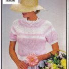 3 Spring Crochet Sweater Patterns Small, Medium and Large