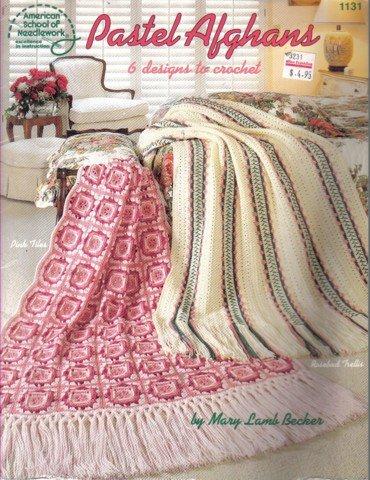 Pastel Afghans - 6 Crochet Patterns