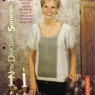 Summer Top Knitting Pattern Petite, Small, Medium, Large