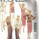 McCall's Misses' Jacket, Skirt Pants and Camisole Pattern  Size 12 no 6850
