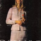 Bernat Dorlaine  Book no 201 Knitting Patterns Dress Suits Sweaters