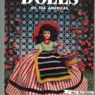 Dolls of the Amerias Crochet Patterns  Clark's Book no. 284 - 1952