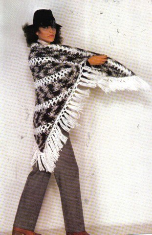 Spinnovations No. 17 70's Knit and Crochet Mosaic Sweaters, Shawl & Jacket