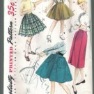 Simplicity Vintage Girls' Set of Skirts Pattern Size 8 # 1783