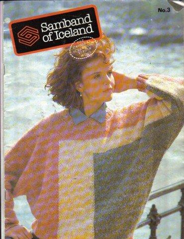 Samband of Iceland Sweater Knitting Patterns Book No. 3