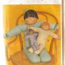 Simplicity Stuffed Doll Pattern no. 9544 3 sizes