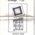 Mail Order Crochet Square Pattern - Design 7156