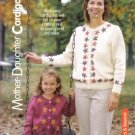 Mother and Daughter Cardigans Knitting Pattern