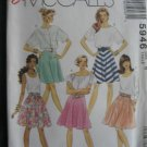 McCall's Misses'  Gored Skirt Pattern Size 6 Uncut no 5946