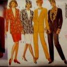 Butterick 3633  Misses' Size 14, 16, 18 Skirt Jacket Pants Hat Pattern Uncut