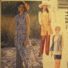 McCall's   Misses' Size 16, 18, 20 Skirt , vest, tunic, pants Pattern Uncut 7128