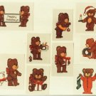 Christmas Bears to Cross Stitch