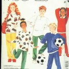 McCall's 3272 Boy's or Girl's Tops & Pants for Stretch Knits Size 8 Uncut