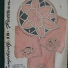 Simplicity Vintage Cutwork Embroidery Transfer 7167