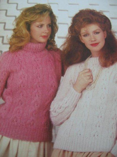 Patons Diana Knitting Sweater Patterns