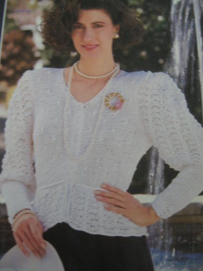 Annie's Attic Year-Round Knit Sweaters 7 Designs