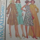 McCall's Dress and Scarf Pattern No.5497 sz 18