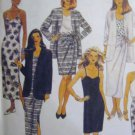 McCall's  Misses'  Unlined Jacket  Dress Top Skirt Sewing Pattern no.7126 Size 12 14 16  Uncut