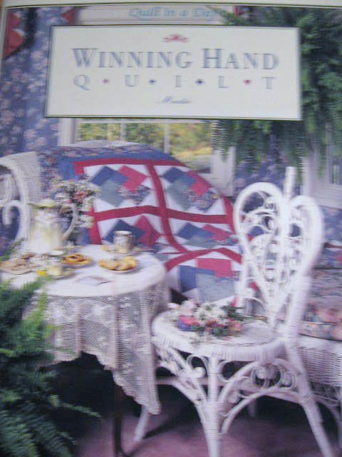 """Quilt in a Day Winning Hand By Jeanne Gretton """"Mackie"""""""