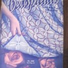 Vintage Bedspread Knit and Crochet Patterns book no 186 Spool Cotton Co.