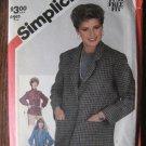Simplicity Unlined Jacket Fuss Free Sewing Pattern  Sz  18  No 5664  uncut