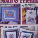 Noah & Friends: 10 Designs, Cross Stitch  Patterns