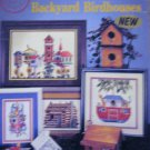 Backyard Birdhouses Counted Cross Stitch Designs  Patterns