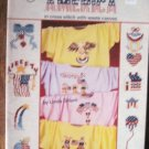Wear America in Cross Stitch with Waste Canvas Counted Cross Stitch Designs  Patterns