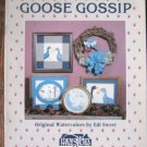 Goose Gossip  Cross Stitch Designs  Patterns