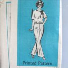 Mail Order 60's Top and Pants Sewing Pattern  sz 38 uncut no 4952