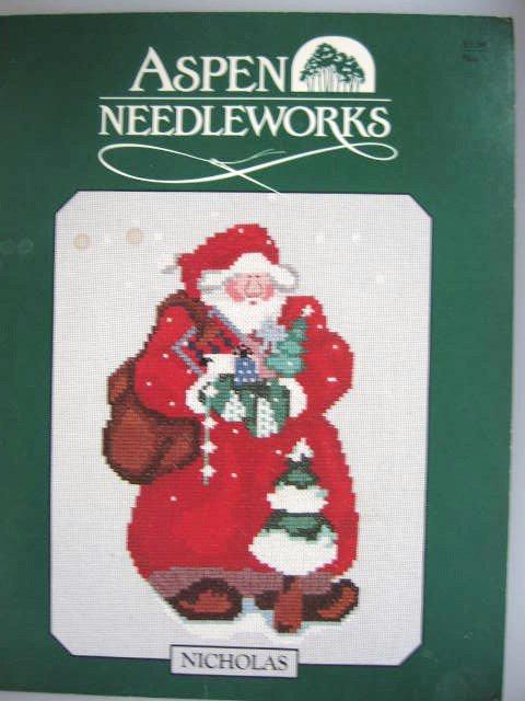 Aspen Needleworks Nicholas Cross Stitch Pattern