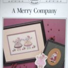 A Merry Company Cross Stitch Design Pattern by Country Berry Stitches
