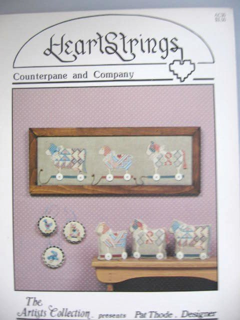 Counterpane and Co  Cross Stitch Designs  Patterns
