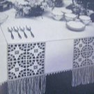 Easy to Crochet Table Cloths Lily 400  Vintage Crochet Patterns