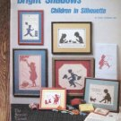 Bright Shadows Children in Silhouette Cross Stitch Designs  Patterns
