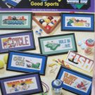 Fun Coolers for Good Sports Cross Stitch Pattern Designs