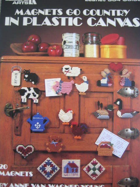 Magnets go Country for Plastic Canvas 20 Designs