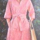Butterick 4777 Sashed Dress  Sewing Pattern Sz 14 Bust