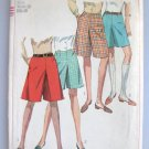 McCall's Culottes in 2 Length Sewing Pattern size waist 26 Complete no 7212
