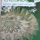 Vintage Coats and Clark's Crochet Book 516 Featuring New Woven Crochet