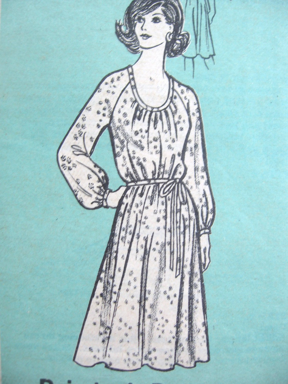 Mail Order 60's Dress Sewing Pattern  sz 38 uncut no 9251