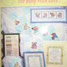 For Baby with Love  Cross Stitch Patterns Night Prayer Birth Sampler Animals