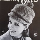 Peak of Fashions in Hats Knitting and Crochet Patterns
