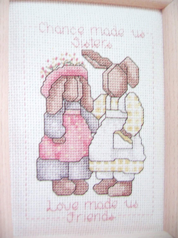 Alma Lynne Sisters  Gift of Love Cross Stitch Pattern
